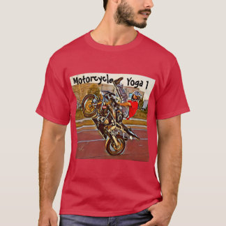 Camiseta T-shirt da ioga da motocicleta