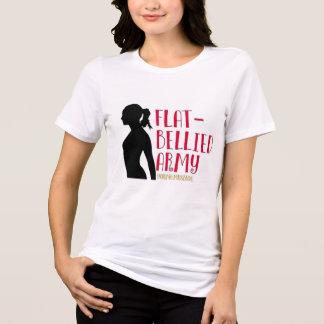 """Camiseta """"T-shirt da irmandade do exército inchado plano"""""""