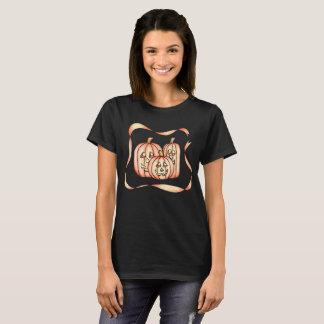 Camiseta T-shirt da Jack-O-Lanterna do Dia das Bruxas