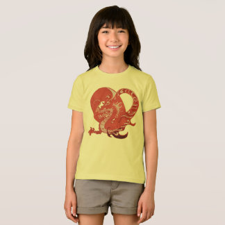 Camiseta T-shirt da juventude do dragão