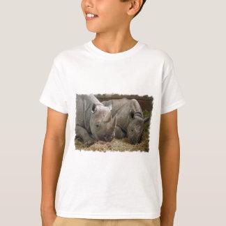 Camiseta T-shirt da juventude dos Rhinos do sono