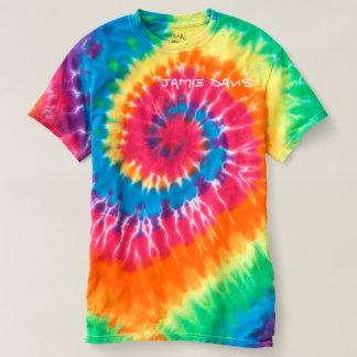 Camiseta T-shirt da Laço-Tintura de Jamie Davis