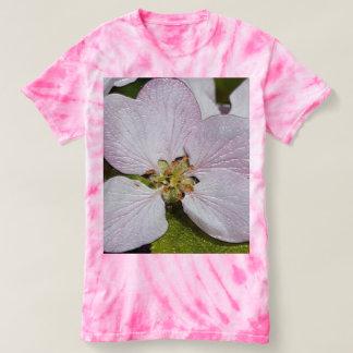 Camiseta T-shirt da Laço-Tintura do ciclone das mulheres