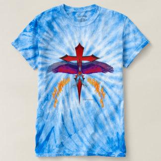 Camiseta T-shirt da Laço-Tintura dos homens de
