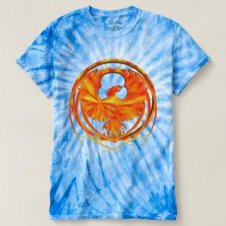 Camiseta T-shirt da Laço-Tintura dos homens impetuosos de