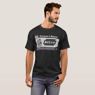 Camiseta T-shirt da lâmina de Occam