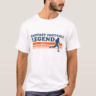 Camiseta T-shirt da legenda do futebol da fantasia