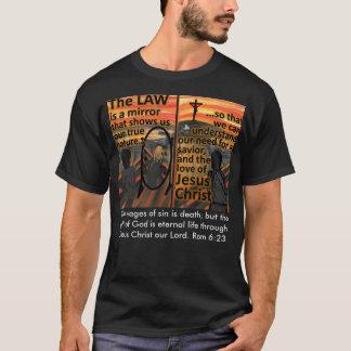 Camiseta T-shirt da lei e do salvação