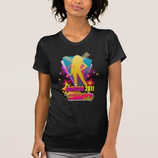 Camiseta T-shirt da lembrança das senhoras de JemCon 2011