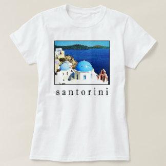 Camiseta T-shirt da lembrança de Santorini (homens,