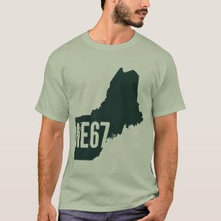 Camiseta T-shirt da lista de Nova Inglaterra 67