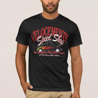 Camiseta T-shirt da loja da velocidade de Fiat 500!