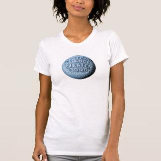 Camiseta T-shirt da lua de MST3K (branco)