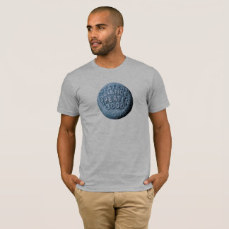 Camiseta T-shirt da lua de MST3K (cinza da urze)