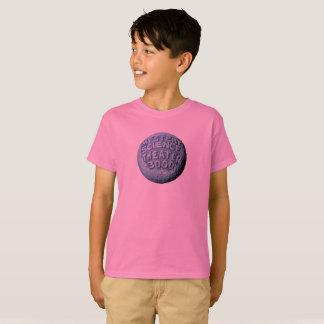 Camiseta T-shirt da lua de MST3K (rosa)