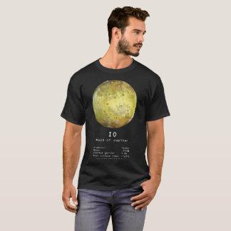 Camiseta T-shirt da lua do Io