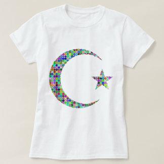 Camiseta t-shirt da lua e da estrela
