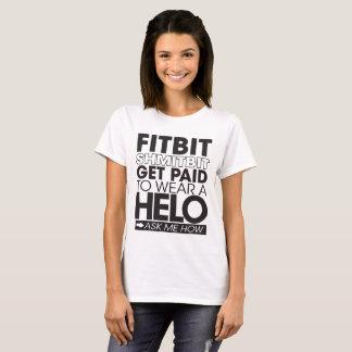 Camiseta T-shirt da luz do HELICÓPTERO da mulher