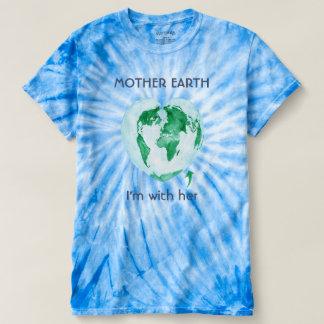 Camiseta T-shirt da Mãe Terra de março da ciência da