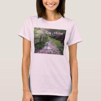 Camiseta T-shirt da mamã de Shih Tzu