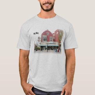 Camiseta T-shirt da maneira de Wy