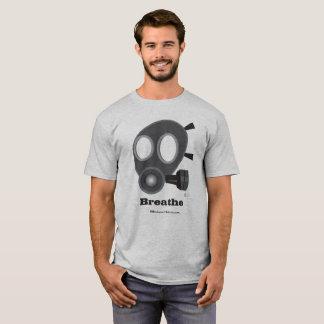Camiseta T-shirt da máscara de gás