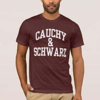 Camiseta T-shirt da matemática de Cauchy-Schwarz