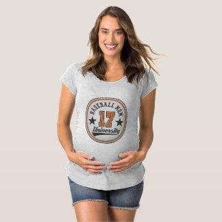 Camiseta T-shirt da maternidade da universidade da mamã do