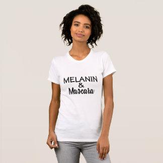 Camiseta T-shirt da MELANINA & do rímel