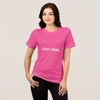 Camiseta T-shirt da MENINA da CIDADE