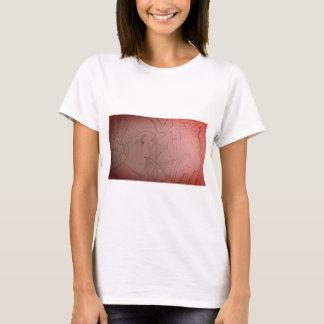 Camiseta T-shirt da menina do art deco