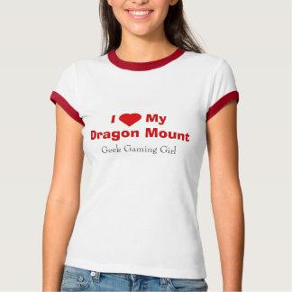 Camiseta T-shirt da menina do Gamer