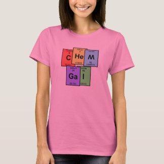 Camiseta T-shirt da mesa periódica de Chem galão