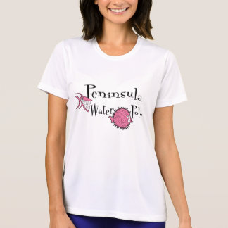 Camiseta T-shirt da Micro-Fibra do pólo aquático da
