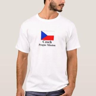 Camiseta T-shirt da missão de Checo Praga