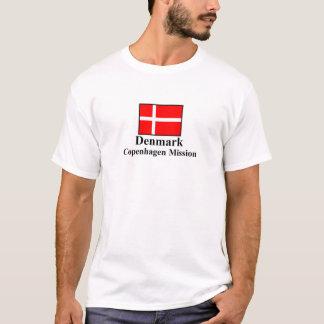 Camiseta T-shirt da missão de Dinamarca Copenhaga