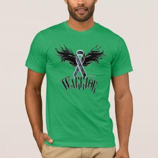 Camiseta T-shirt da mistura do Poli-Algodão dos homens do