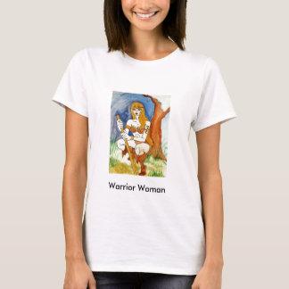 Camiseta T-shirt da mulher do guerreiro