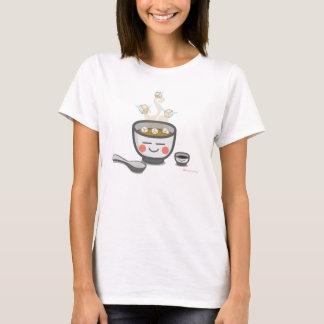 Camiseta t-shirt da mulher dos anjos do tofu
