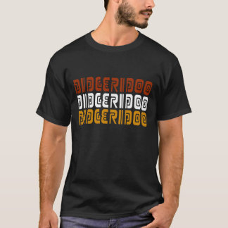 Camiseta T-shirt da música de Didgeridoo Didjeridu
