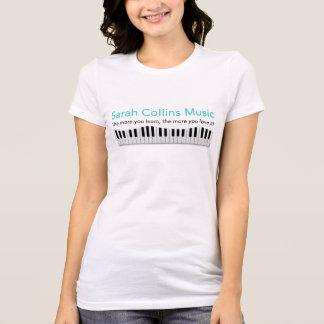 Camiseta T-shirt da música de Sarah Collins