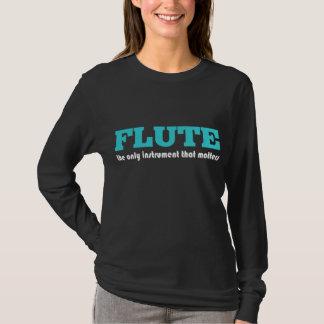 Camiseta T-shirt da música do jogador de flauta