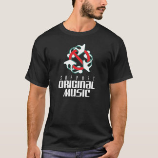 Camiseta t-shirt da música original do apoio