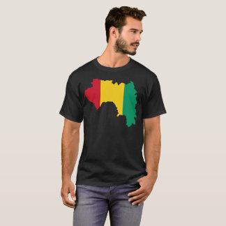 Camiseta T-shirt da nação da Guiné