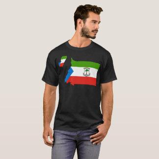 Camiseta T-shirt da nação da Guiné Equatorial