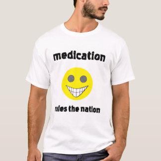 Camiseta T-shirt da nação da medicamentação