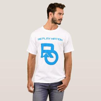 Camiseta T-shirt da nação da repetição