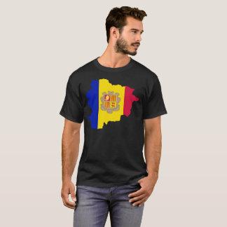 Camiseta T-shirt da nação de Andorra