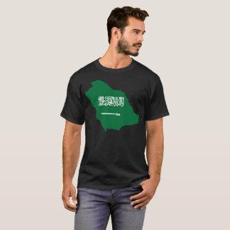 Camiseta T-shirt da nação de Arábia Saudita