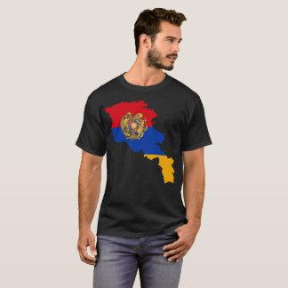 Camiseta T-shirt da nação de Arménia